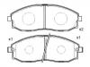 Brake Pad Set:58101-4AA00