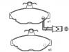 刹车片 Brake Pad Set:BHM7237